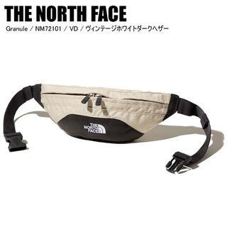 ザノースフェイス(THE NORTH FACE)の【新品】ノースフェイス グラニュール ウエスト ボディ バッグ ホワイト(ボディーバッグ)