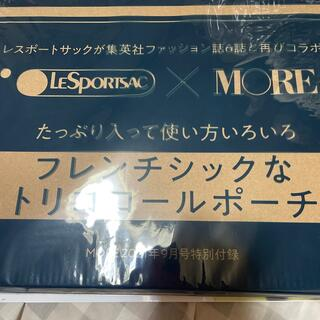 LeSportsac - MORE9月号付録レスポポーチ