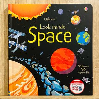 ★特別価格★英語絵本 洋書 宇宙 惑星  Look Inside Space(絵本/児童書)