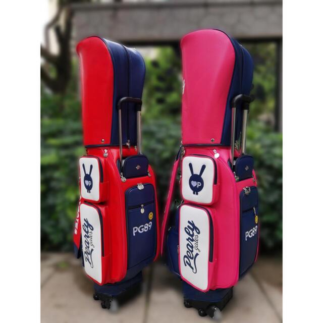 PEARLY GATES(パーリーゲイツ)の【日本未入荷】韓国パーリーゲイツ パーリーゲイツ キャディバッグ ゴルフ バッグ スポーツ/アウトドアのゴルフ(バッグ)の商品写真