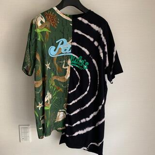 LOEWE - LOEWE アシンメトリー オーバーサイズ プリント Tシャツ