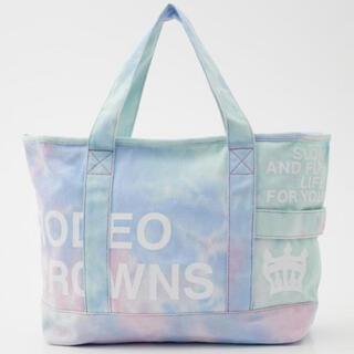 RODEO CROWNS WIDE BOWL - ロデオクラウンズ  トートバッグ たいだい ミント 新品未使用 タグ付