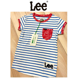 リー(Lee)の半袖シャツ チュニック ワンピース(Tシャツ/カットソー)