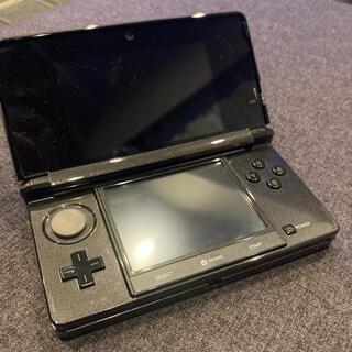 ニンテンドー3DS - 【ジャンク品・本体のみ】 任天堂3DS コスモブラック