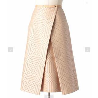 Drawer - 美品 Drawer  ドゥロワー スカート 2020モデル ベージュ 38