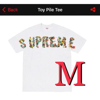 Supreme - 【supreme】Toy Pile tee  Mサイズ 白