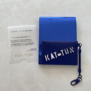 KAT-TUN - 【未使用】KATーTUN FC限定 /10周年/パスケース&コイルストラップ
