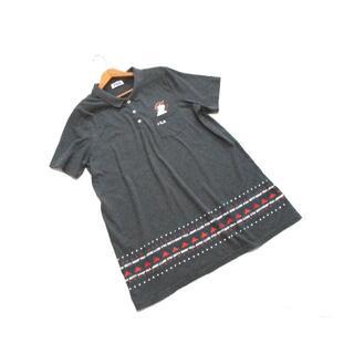 フィラ(FILA)の送料無料! フィラ ベティブープ コラボ グレー ゆったり ポロシャツ 3L(ポロシャツ)
