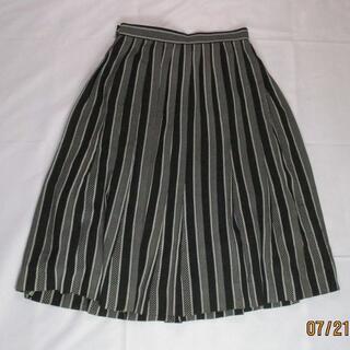 美品◆昭和レトロ◆【grand SPORTS】膝下プリーツスカート サイズ9号