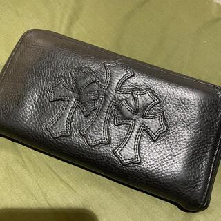 クロムハーツ(Chrome Hearts)の極美品 クロムハーツ セメタリークロス 長財布(長財布)