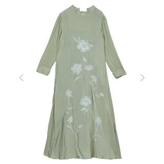 Ameri VINTAGE - Ameri 2WAY FLOWER GARDEN DRESS