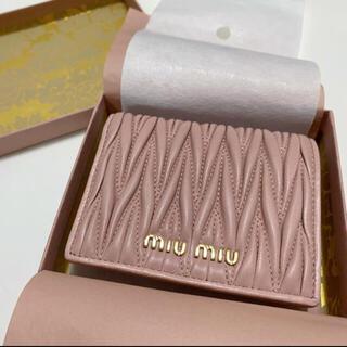 miumiu - 【新品】miumiu財布