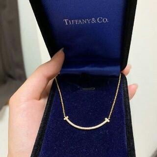 Tiffany & Co. ティファニー Tスマイル  ネックレス