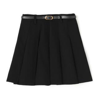 GRL - GRL ベルト・インパン裏地付きプリーツスカート