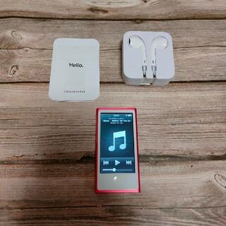 iPod nano 第7世代 16GB  極美品 新品近い