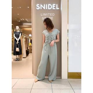 snidel - snidel スナイデル カットリブセットアップ