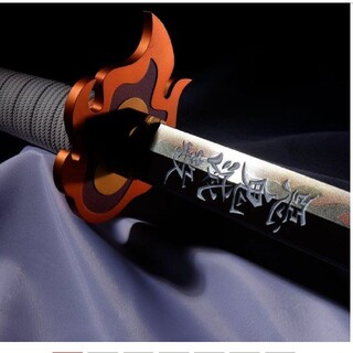 バンダイ(BANDAI)のPROPLICA 日輪刀(煉獄杏寿郎)(キャラクターグッズ)