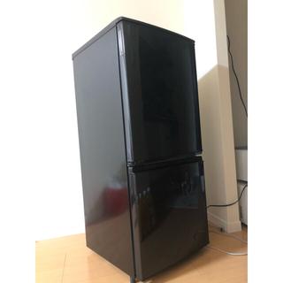 SHARP - 2016年式シャープ製冷蔵庫(黒) 137L 一人暮らし向き 美品