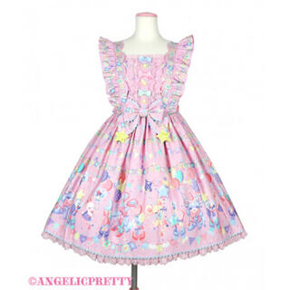 Angelic Pretty - 本日発送 angelic pretty HappyGarland  JSKピンク