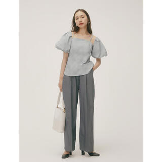 RANDEBOO  RB loose set pants (gray)