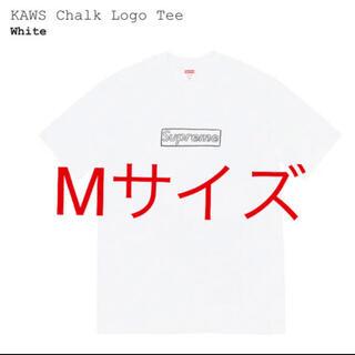 Supreme - supreme kaws chalk logo tee 白 M