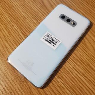 Galaxy S10e ホワイト SIMフリー