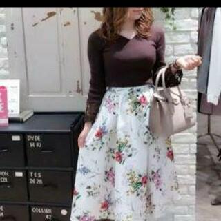 ノエラ(Noela)のNoela フラワースカート(ひざ丈スカート)