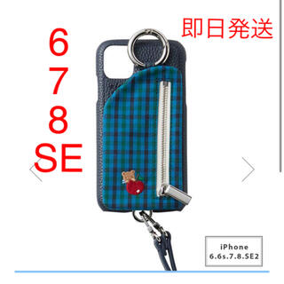 ファミリア(familiar)の【新品】ajew×familiar  iPhoneケース 6S/7/8/SE2(iPhoneケース)