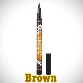 1本【送料無料 】36h ブラウン Browアイライナー