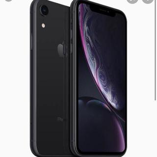 Apple - iPhoneXR 黒 64GB simフリー