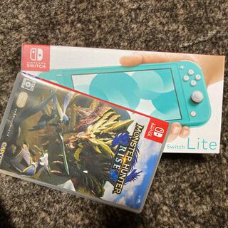 Nintendo Switch - ニンテンドースイッチ lite 本体 モンハン