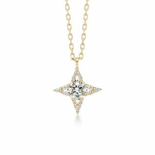 アーカー(AHKAH)のアーカー ノーブルシリウスネックレス 0.25ct ahkah(ネックレス)