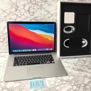 Mac (Apple) - 最上位CPU MacBook pro retina 15インチ Late2013