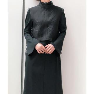 mame - 新品 ♡ mame マメ 刺繍 ワンピース ブラック size1