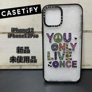 【新品・未使用】casetify iPhone12/12Pro用ケース 海外限定