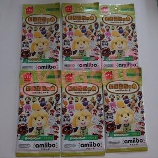 任天堂 - 【どうぶつの森】第一弾 amiiboカード 6パック あつ森 Switch