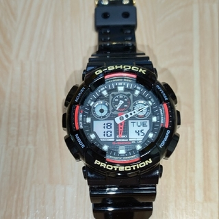 ジーショック(G-SHOCK)のCASIO  G-SHOCK GA-100ベルベゼ未使用品(腕時計(アナログ))