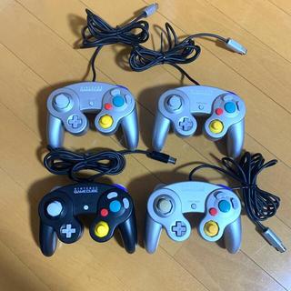 ニンテンドーゲームキューブ(ニンテンドーゲームキューブ)のゲームキューブ コントローラー 純正 4個セット 美品(その他)