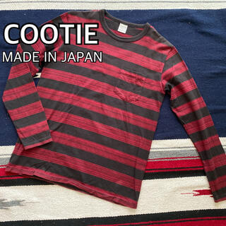 COOTIE - COOTIE クーティー パネルシャドーボーダー カットソー ポケT