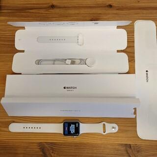 Apple Watch - 【美品】 Apple Watch 3 42mm GPSモデル アップルウォッチ