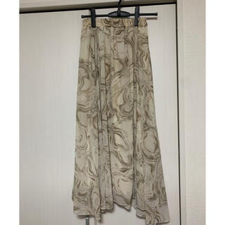 しまむら - ニュアンス柄 スカート