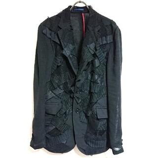 サンローラン(Saint Laurent)の希少!定価20万 KOHSHIN SATOH デザインテーラードジャケット(テーラードジャケット)