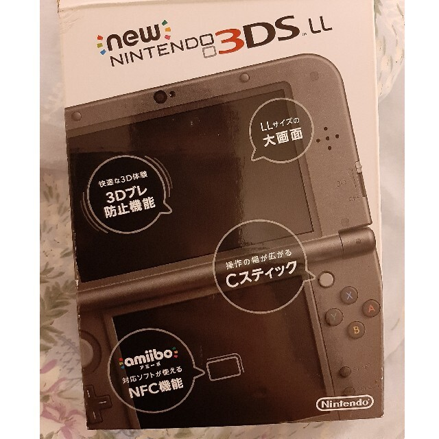 任天堂(ニンテンドウ)のnew NINTENDO 3DS LL 本体 エンタメ/ホビーのゲームソフト/ゲーム機本体(携帯用ゲーム機本体)の商品写真