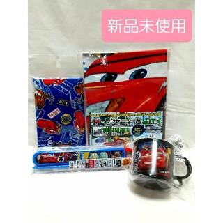 ディズニー(Disney)の新品 カーズ お箸 レジャーシート コップ 巾着 まとめ売り(外出用品)