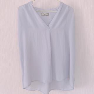ノエラ(Noela)のノエラ ライトパープルカットソー(シャツ/ブラウス(半袖/袖なし))