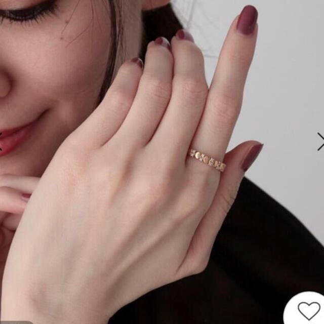 COCOSHNIK(ココシュニック)のココシュニック k10 COCOSHNIK ダイヤ レディースのアクセサリー(リング(指輪))の商品写真