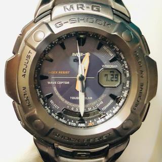 ジーショック(G-SHOCK)の【美品・チタン】G-SHOCK MRG-3000DJ-1AJF(腕時計(アナログ))