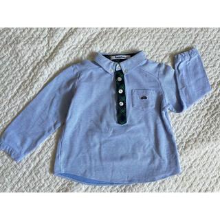 ファミリア(familiar)の【美品】ファミリア ポロシャツ 長袖カットソー 100(Tシャツ/カットソー)