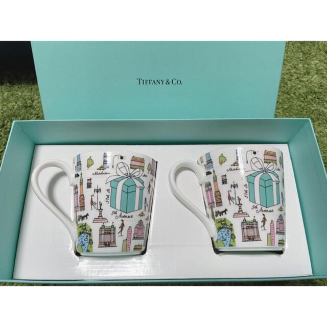 Tiffany & Co.(ティファニー)のTiffanyペアマグカップ インテリア/住まい/日用品のキッチン/食器(グラス/カップ)の商品写真