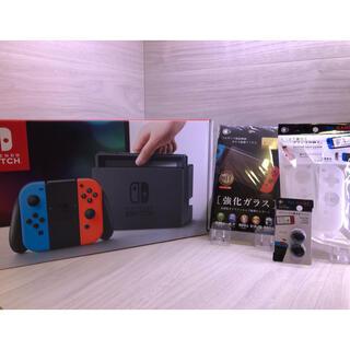 Nintendo Switch - おまけ付き!すぐに遊べる完全品Nintendo Switch本体一式